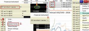 VX Futures – Volatility Spread – II.