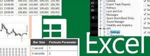 Historická data z IB do Excelu