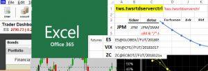 Živá data z IB do Excelu